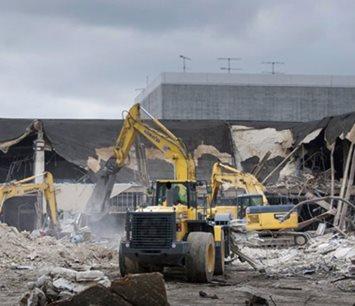 Randall Park mall demolition