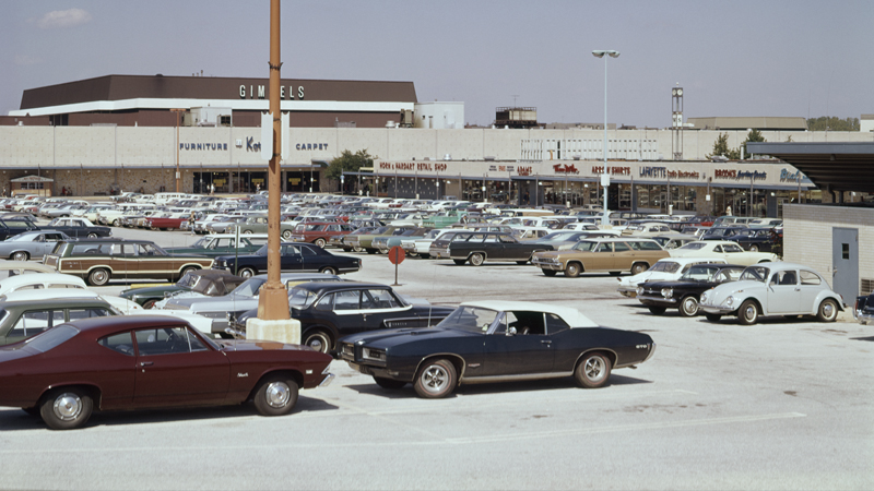 king of prussia pa mall 1970